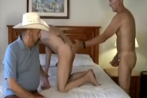 old Cowboy And friend bang young twink