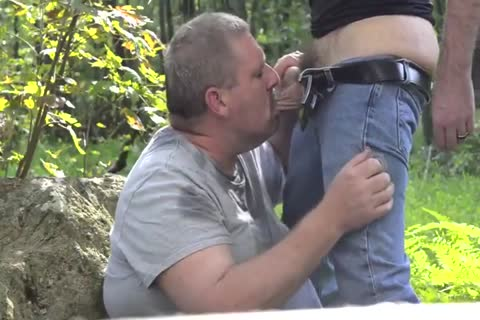 excited Chub Daddy lick And suck