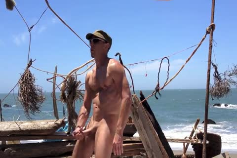 fucking And stroking And Squirting At The undressed Beach