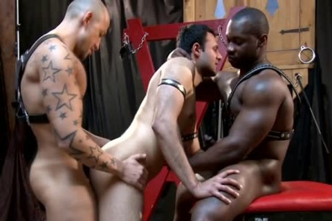 A juicy homo threesome Which Is Very hardcore!