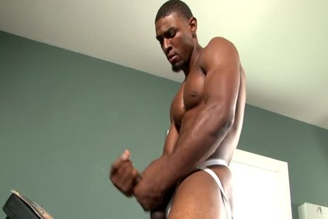 When A black twink Masturbates Eagerly