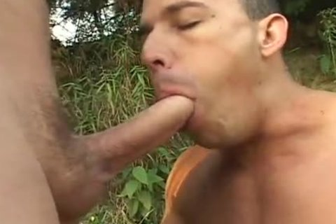 Muscle Michel Likes To Give Blowjobs
