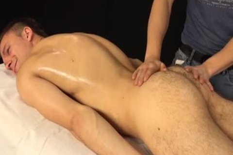 Jason Lucius gets Oily cook jerking
