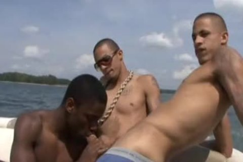Phat Daddy And King Dingo On A Boat