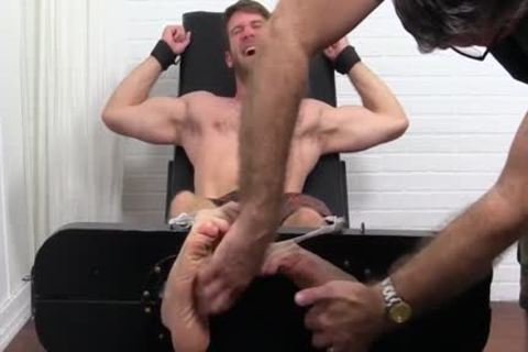 Colby Keller With A ideal Body receives A Foot And Toe Tickle