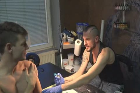 lusty Sex For cash In A Tattoo Studio