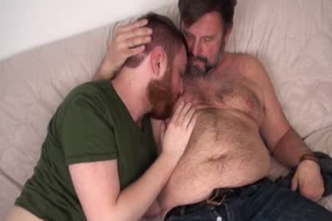 curly Daddy Chris Mine nails Colt Cox bare