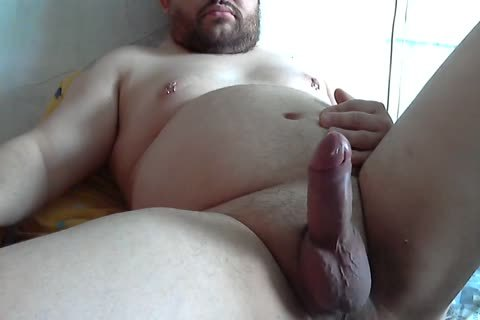 chubby amateur Tugging 10-Pounder
