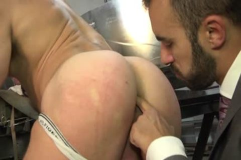 Muscle gay a bit of butthole And Facial