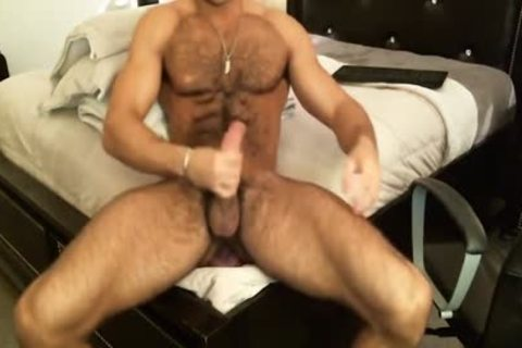 Hunk Sean Zevran toys His booty And Cums On web camera
