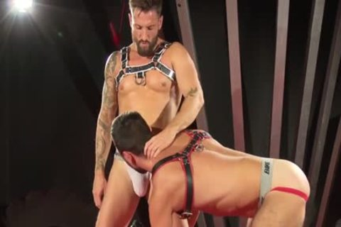 Muscle Bear Domination With sperm flow
