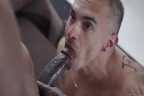 large ramrod homosexual anal sex With Facial