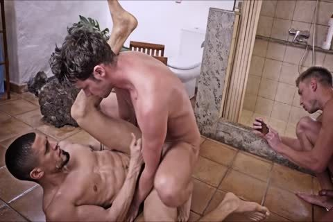 unprotected double penetration 04 - unprotected And Cumeating