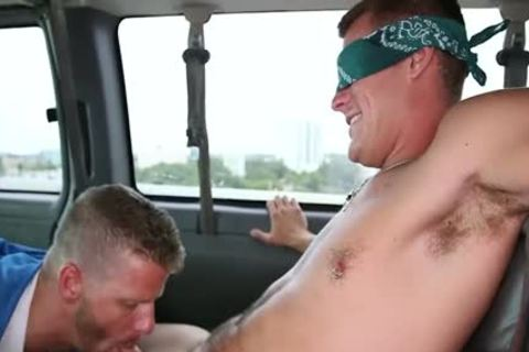 Jeremy Stevens And Jace Chambers Have homo Sex In A Van