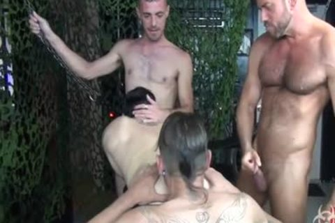 filthy raw Foursome group gangbang