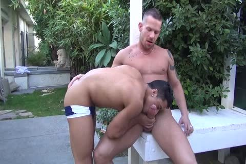 Shane Frost nails Armond Rizzo bare