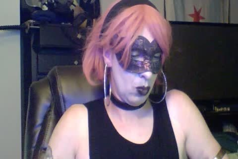pretty Dancing Goth CD web camera Show (part two Of two)