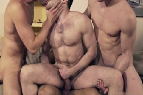 stunning homosexual double penetration And Facial