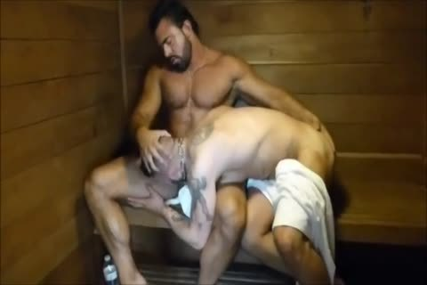 MM Two hirsute Muscle Hunks slam raw At The Gym