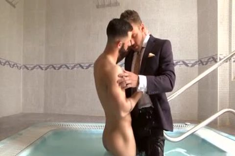 Muscle gay Fetish With Facial