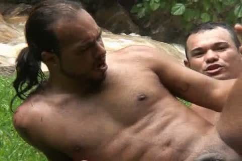 Matheus And Filip Alves Have Sex Outside