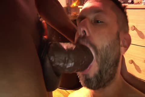 Sharing darksome cock