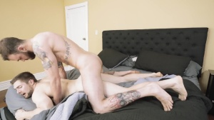 Polyamor-arse - Cliff Jensen with Griffin Barrows ass Love