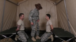 Drill The Sergeant - Damien Kyle and Tanner Tatum Hunk bang