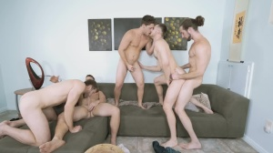 My floozy Of A Roommate - Colby Keller and Jacob Peterson skank Nail