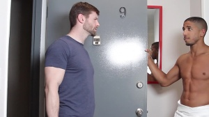 Fix And bang - Dennis West with Mike Maverick butthole Hook up