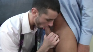 Car Jerk - Jake metallic with Dominic Pacifico butthole Hump