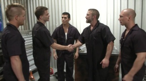 The Shop - Dirk Caber with John Magnum butthole fuck