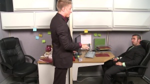The Annoying Colleague - Diego Vena and Philip Aubrey butthole bang