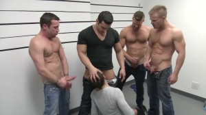 The Line Up - Landon Conrad and Trevor Knight butthole Nail