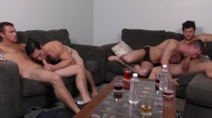 daddy group - Connor Maguire and Ashton McKay ass screw
