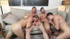 His Royal Highness - Connor Maguire and Jimmy Durano anal invasion