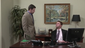Married To The Boss - Andrew Stark with Jake Wilder butthole Nail