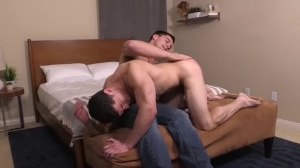 that chap Likes It rough & raw - cum In mouth Love
