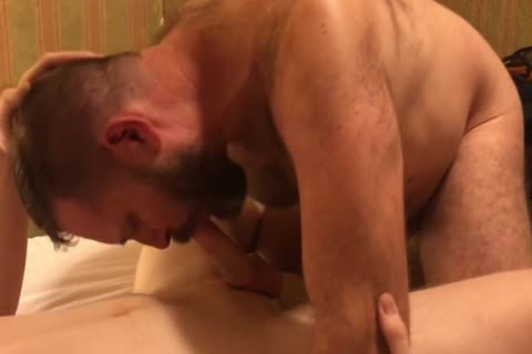 Soft Ginger twink And hairy Hard dad Getting Ready