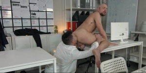 Putting The ass In Assistant: - Paddy O'Brian with Drew Dixon butthole Hook up