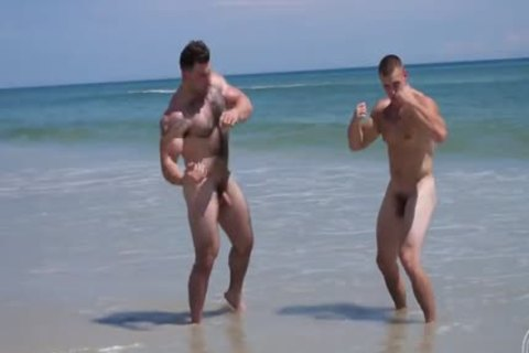 in nature's garb Muscle Beach - Jack And Jason