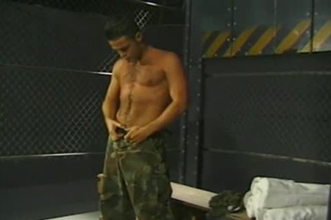 Army twinks Have A enjoyment oral-job Job