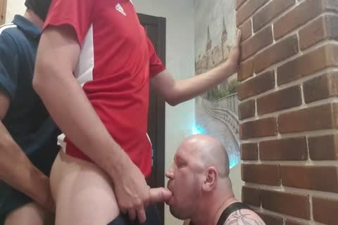 2 master From The Doorway Hard pound face hole And raw