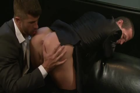 Adam Killian Takes Off His Suit To plow A Hunk