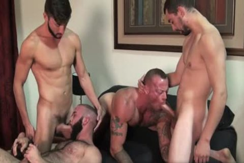 Sean Duran & Scott DeMarco Chase Klein Fernando Del Rio - raw Hunk Fourgy