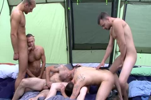 Kai Cruz Enjoys An orgy