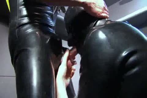 sucking And banging In Rubber