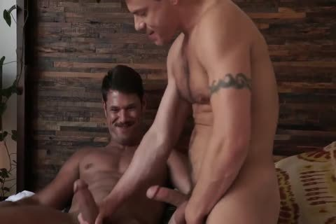 Jesse Santana pokes His friend Tyler Roberts naked