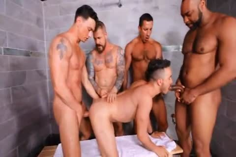 Cell Block orgy