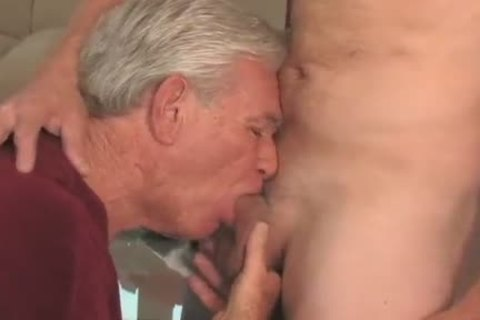 enjoyable older man sucking & Getting poked By Younger chap
